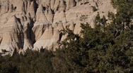 Stock Video Footage of Tent Rock 1141