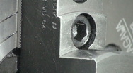 Fine mechanism in the factory Stock Footage
