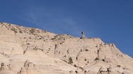 Stock Video Footage of Tent Rock 1135