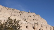 Stock Video Footage of Tent Rock 1134
