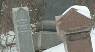 Cemetery 19 Stock Footage