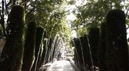 Palma De Mallorca Fountains 2 Stock Footage