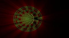Sun wheel Stock Footage