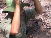 Stock Video Footage of Cu Chi tunnels
