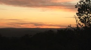 Sunset South Africa Stock Footage