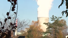 Leibstadt Nuclear Power Plant 14 Stock Footage