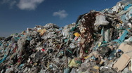 Stock Video Footage of Landfill garbage
