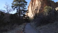 Bandelier National Park  2066 Stock Footage