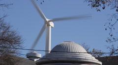 Wind Turbine  # 2 - Iowa State Fair Stock Footage