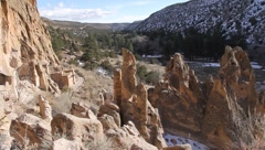 Bandelier National Park  2029 Stock Footage