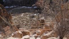 Bandelier National Park  2028 Stock Footage