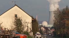 Leibstadt Nuclear Power Plant 25 Stock Footage