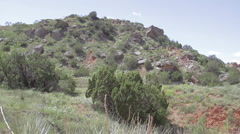 Hillside in Canyon Stock Footage
