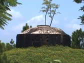 Stock Video Footage of Vong Canh heuvel bunker