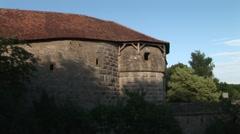 Medieval German Building Stock Footage