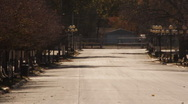 Fall main street scene - Iowa State Fair  Stock Footage