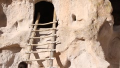 Bandelier National Park  2001 Stock Footage