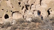 Stock Video Footage of Bandelier National Park  1973