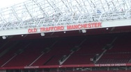 Stock Video Footage of Manchester United, Old Trafford Stadium