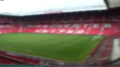 Old Trafford, Theatre of Dreams Stock Footage