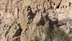 Bandelier National Park  1970 Stock Footage