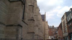 Church in Lille Stock Footage