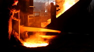 Stock Video Footage of Hard work in the foundry
