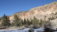 Stock Video Footage of Bandelier National Park  1954