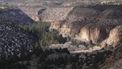 Bandelier National Park  1942 Stock Footage