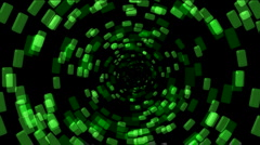 Abstract binary internet tunnel particle,tech energy,tube pollution Fireworks. Stock Footage