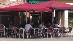 Venice Cafe Stock Footage