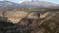 Bandelier National Park 1940 Stock Footage