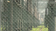 Switchyard Laufenburg 8 Stock Footage