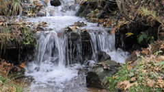Moutain stream2 Stock Footage