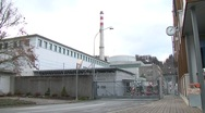 Stock Video Footage of Mühleberg Nuclear Power Plant 3