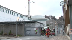 Mühleberg Nuclear Power Plant 10 Stock Footage