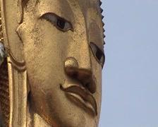 Wat Intharawihan Stock Footage