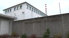Mühleberg Nuclear Power Plant 14 Stock Footage