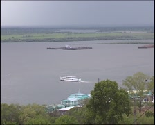 Khabarovsk Amur River Stock Footage