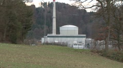 Mühleberg Nuclear Power Plant 1 Stock Footage