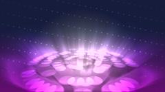 JHD - eMD - dotty Circles - purple blue Stock Footage