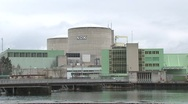 Stock Video Footage of Beznau Nuclear Power Plant 2