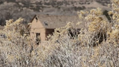 Southwestern Adobe Home Stock Footage