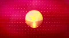 JHD - eMD - motionSphere - red Stock Footage