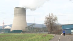 Gösgen Nuclear Power Plant 19 - stock footage