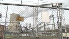 Gösgen Nuclear Power Plant 24 - stock footage