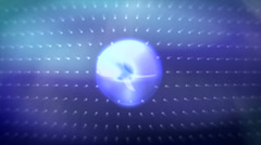 JHD - eMD - motionSphere - blue Stock Footage