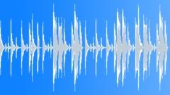 Straight Forward House Drum Pattern 132 BPM Stock Music
