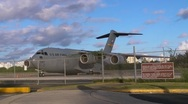 C17 Global Master 3 HD Stock Footage