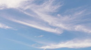 Stock Video Footage of HD Cirrus Clouds - Time Lapse